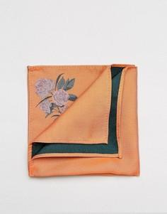 Оранжевый платок для нагрудного кармана ASOS - Оранжевый