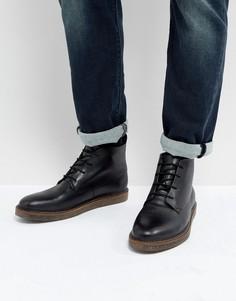 Черные ботинки чукка Dune - Черный