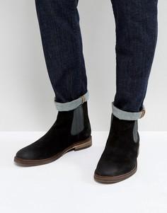Черные замшевые ботинки челси Steve Madden Teller - Черный
