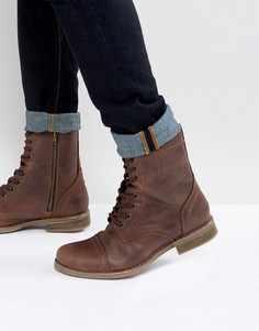 Коричневые ботинки Steve Madden Troopah - Коричневый