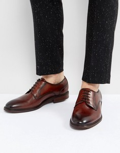 Светло-коричневые кожаные ботинки Steve Madden Bozlee - Рыжий
