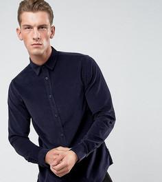 Узкая рубашка из мелкого вельвета Only & Sons - Черный
