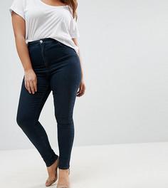 Выбеленные джинсы ASOS CURVE Sculpt Me - Синий