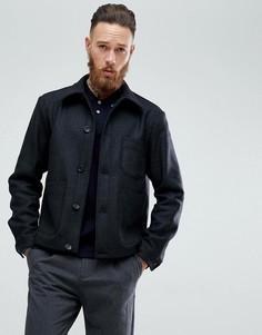 Темно-серая куртка с добавлением кашемира PS by Paul Smith - Серый