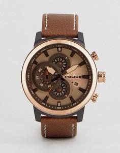Коричневые часы Police - Коричневый
