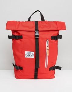 Красный рюкзак с закатанным верхом Poler - Красный