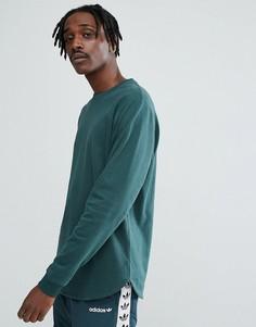Длинный зеленый свитшот ASOS - Зеленый