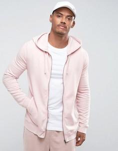 Худи розового выбеленного цвета River Island - Розовый