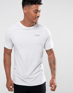 Серая футболка Illusive London Poly - Белый