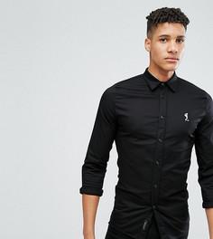Узкая эластичная рубашка Religion TALL - Черный