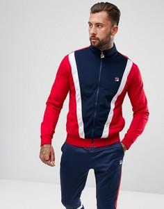 Спортивная куртка со вставкой спереди Fila Vintage - Темно-синий