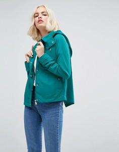 Куртка с капюшоном Vero Moda - Темно-синий