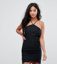 Платье с завязкой на шее Glamorous Petite - Черный
