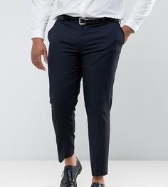 Темно-синие брюки слим River Island PLUS - Темно-синий