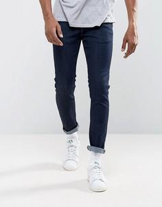 Темные зауженные джинсы River Island - Синий