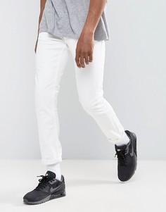 Белые зауженные джинсы River Island - Белый