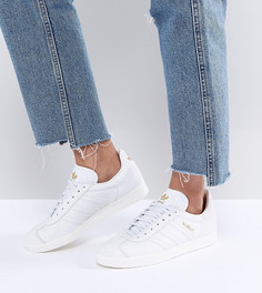 Белые кроссовки adidas Originals Gazelle - Белый