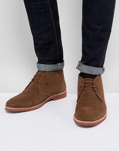 Коричневые замшевые ботинки чукка Red Tape - Коричневый
