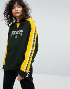 Свитшот с круглым вырезом и лентой Puma X Fenty - Мульти