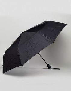 Черный зонт Peter Werth - Черный