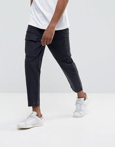 Черные брюки карго Kiomi - Черный