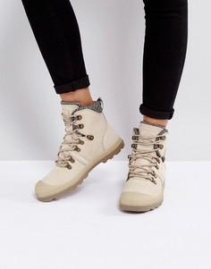 Бежевые ботинки Palladium Pallabrouse Hikr Safari - Бежевый