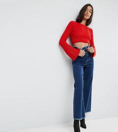 Широкие джинсы ASOS TALL - Синий