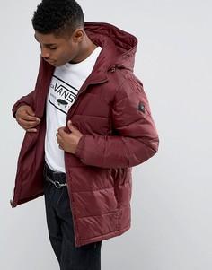 Красная дутая куртка Vans Woodcrest MTE VA2X5U4QU - Красный