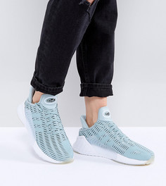 Светло-зеленые кроссовки adidas Originals Climacool - Зеленый