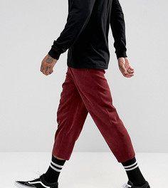 Вельветовые брюки свободного кроя Reclaimed Vintage Inspired - Красный