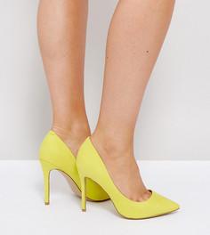 Туфли-лодочки для широкой стопы River Island - Желтый