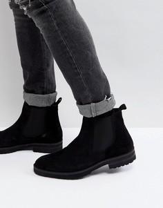 Кожаные ботинки челси Zign - Черный