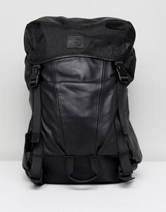 Кожаный рюкзак Sandqvist Elliot - Черный