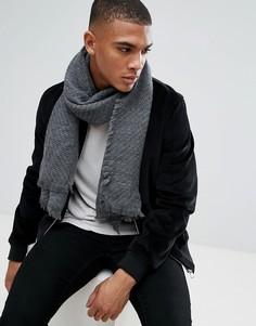 Тканый шарф Esprit - Серый