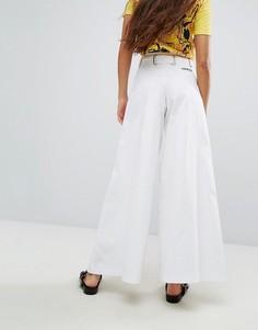 Широкие джинсы Hanger - Белый