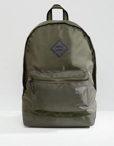 Рюкзак цвета хаки с карманом River Island - Зеленый