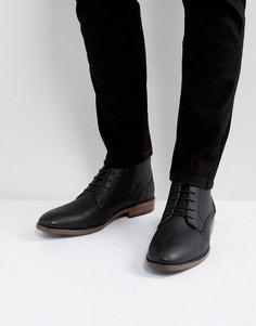 Черные ботинки чукка River Island - Черный