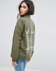Куртка в стиле милитари Vero Moda - Зеленый