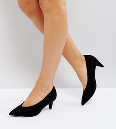 Туфли для широкой стопы на каблуке средней высоты ASOS STRIKE - Черный