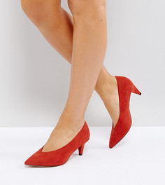 Туфли на каблуке для широкой стопы ASOS STRIKE - Красный