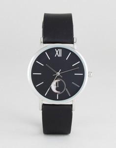 Часы с искусственным жемчугом ASOS - Черный