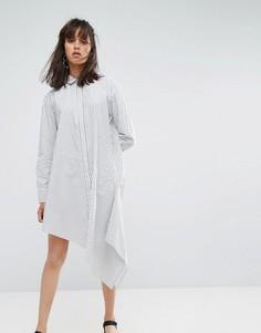 Платье в полоску Weekday - Мульти