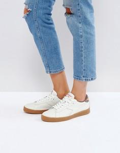 Низкие кроссовки (белый/серый) Diadora Game L - Белый