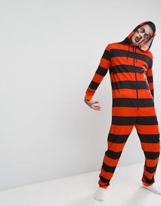 Комбинезон в стиле арестанта для Хэллоуина SSDD - Оранжевый