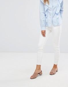 Укороченные джинсы скинни Vero Moda - Белый