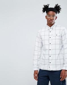 Рубашка в клетку Vans - Белый