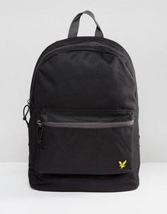 Черный рюкзак с логотипом Lyle & Scott - Черный