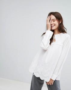 Свободная блузка с оборкой Paul & Joe Sister - Белый