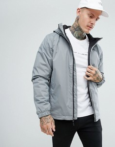 Серая утепленная непромокаемая куртка The North Face Quest - Серый