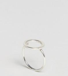Серебряное кольцо с вырезом Kingsley Ryan - Серебряный
